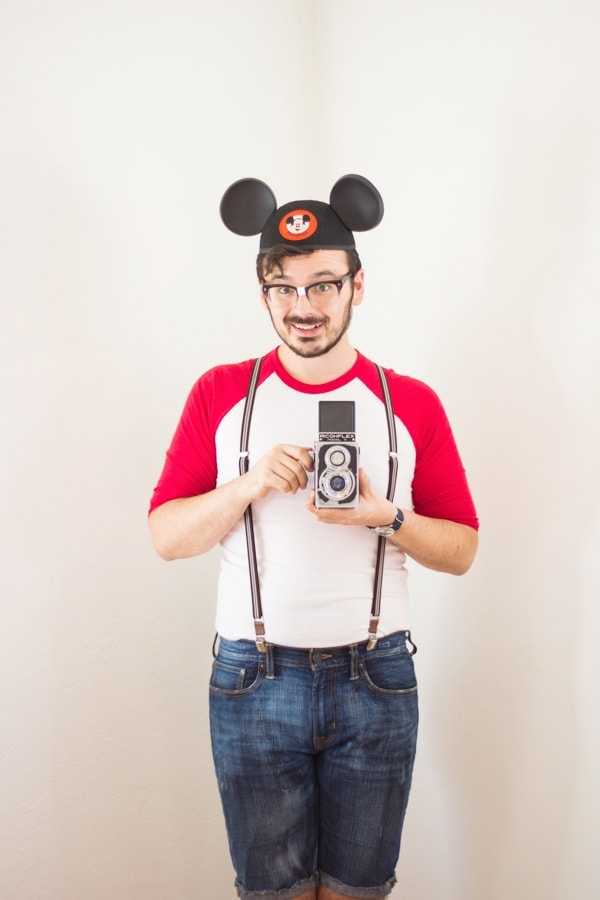 DIY Mouseketeer Halloween Costume