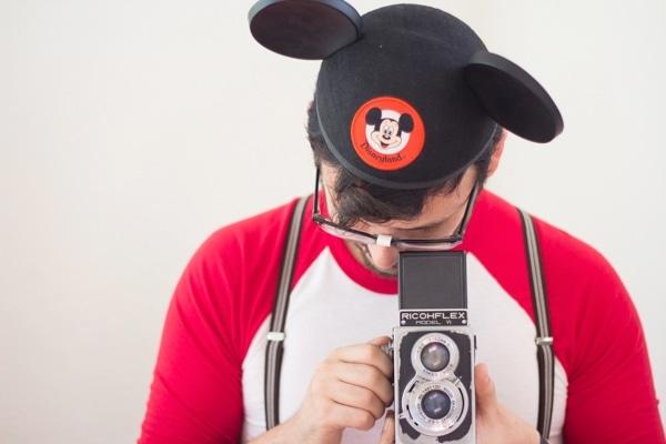 DIY Mouseketeer Halloween Costume