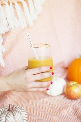 Healthy Fall Smoothie Recipe