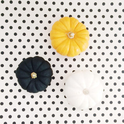 Pumpkins and Polka Dots