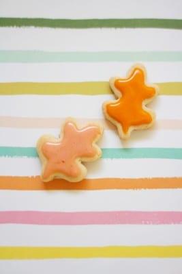 Mini Fall Cookies