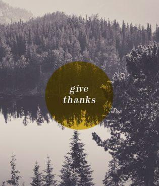 Giving Thanks thumbnail
