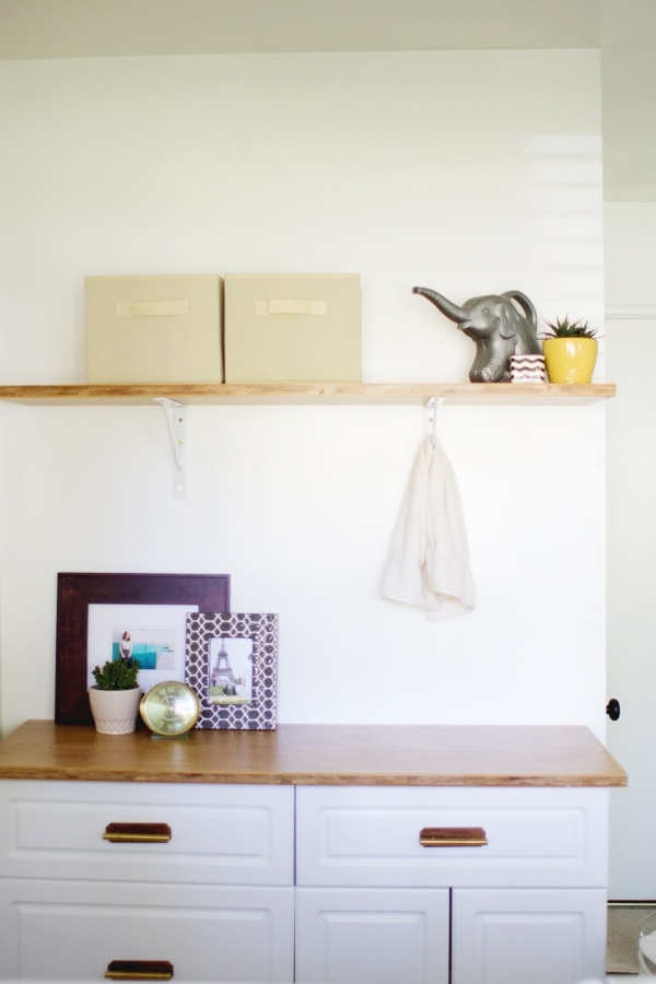 DIY Laundry Room Cabinet » Lovely Indeed