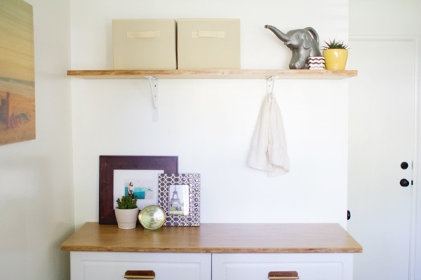 DIY Laundry Room Cabinets