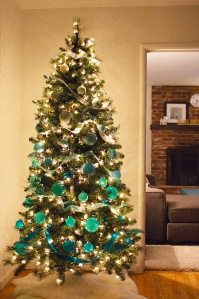 DIY Ombre Christmas Tree