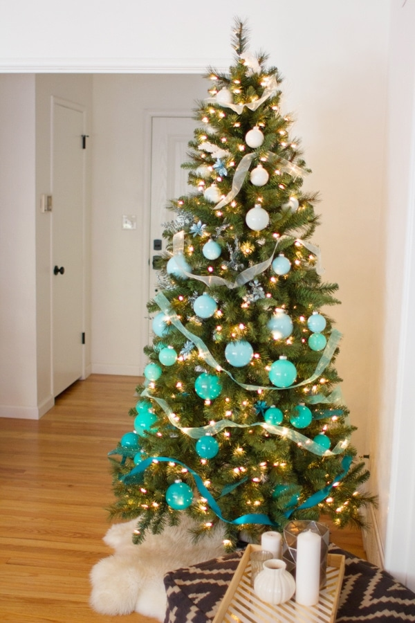 Diy Ombre Christmas Tree 187 Lovely Indeed