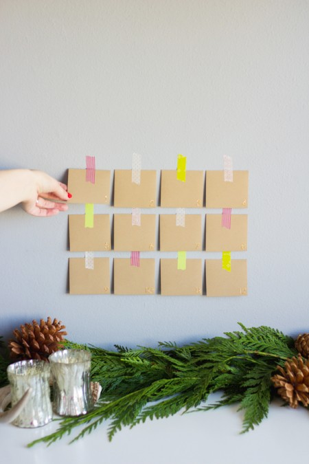 12 Days of Kindness Advent Calendar Printable