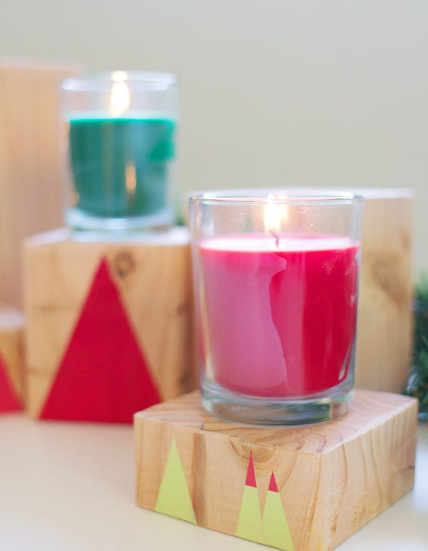 DIY Geometric Forest Holiday Decor thumbnail