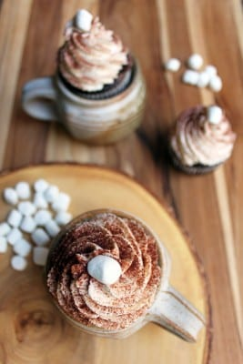 Hot Chocolate Cupcake Recipe