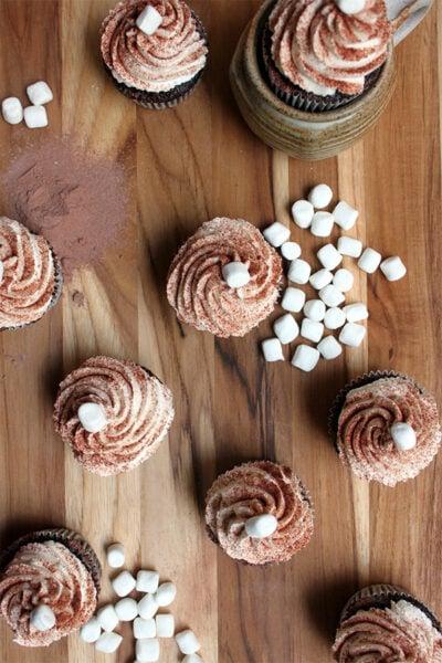 Hot Chocolate Cupcake Recipe