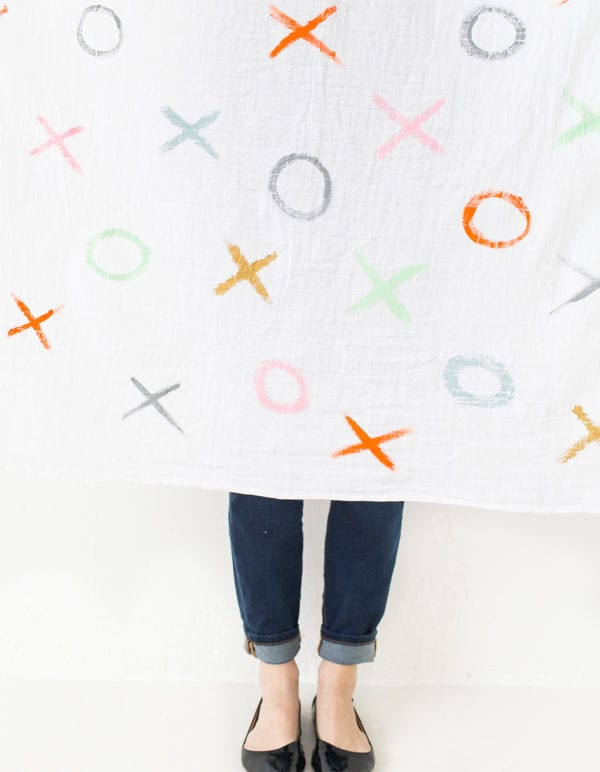 DIY XOXO Throw Blanket thumbnail