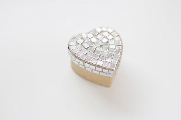 DIY Disco Heart Valentine