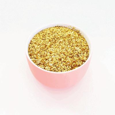 bowl of glitter
