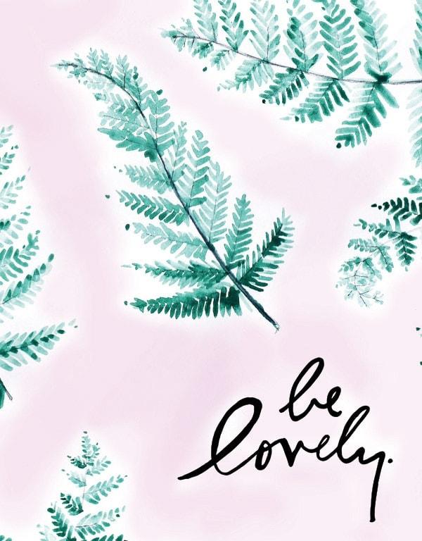 Be Lovely