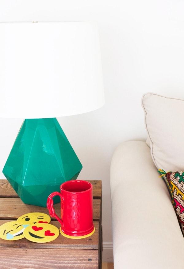 DIY Emoji Coasters