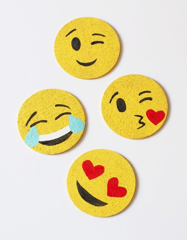 DIY Emoji Coasters thumbnail