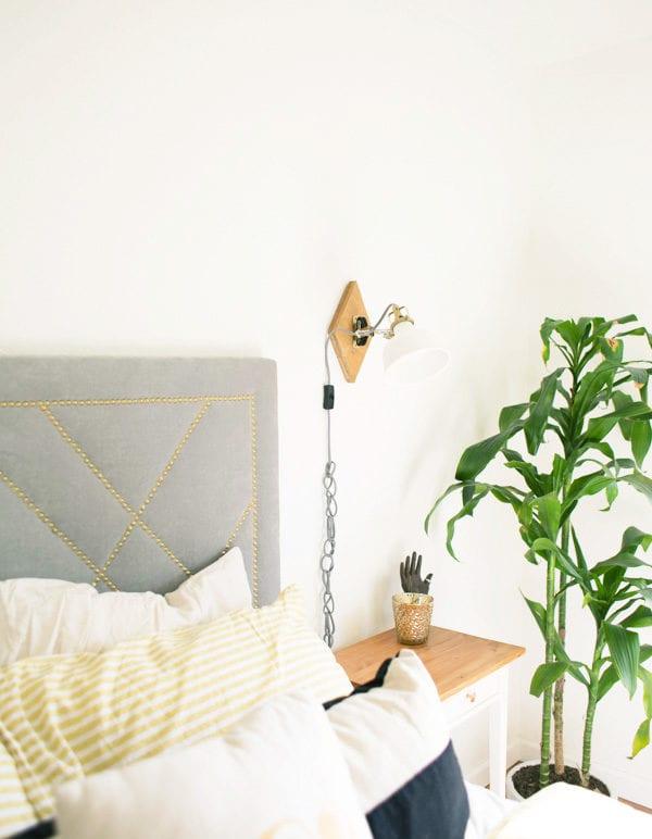 DIY IKEA Hack Geometric Wall Sconces thumbnail