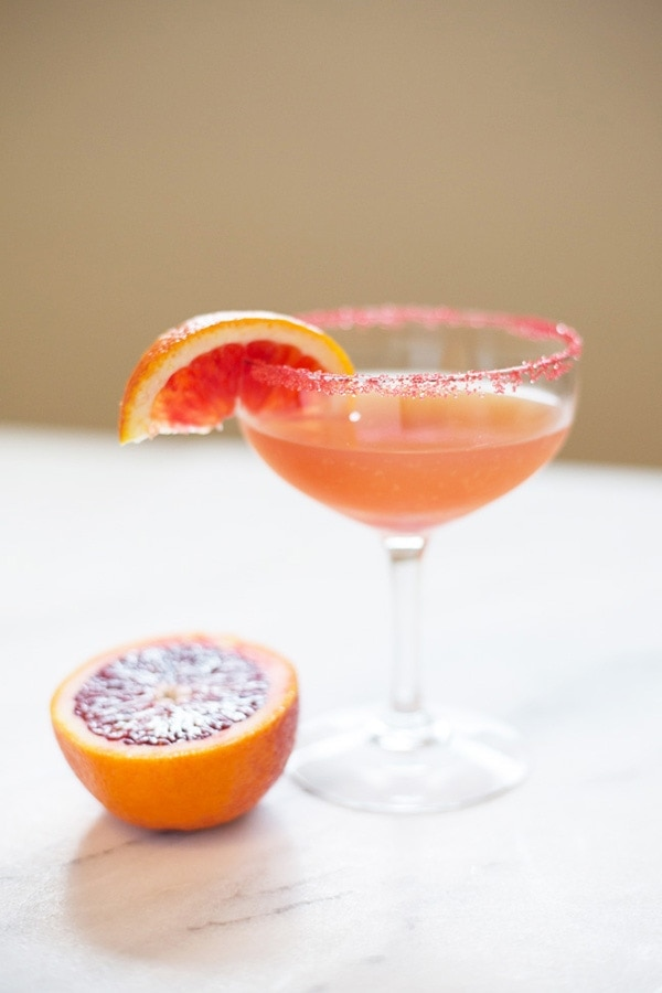 Blood Orange Sidecar Cocktail Recipe