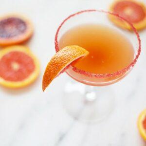 Blood Orange Sidecar Cocktail Recipe