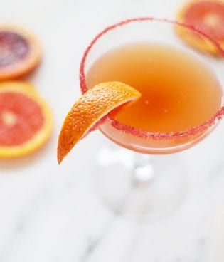Blood Orange Sidecar Cocktail thumbnail