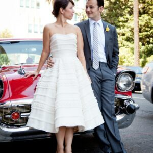 wedding-car-palm-trees-bride-groom