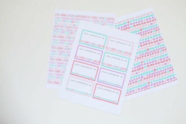 DIY Printable Calling Cards