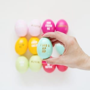 DIY Typography Easter Eggs thumbnail