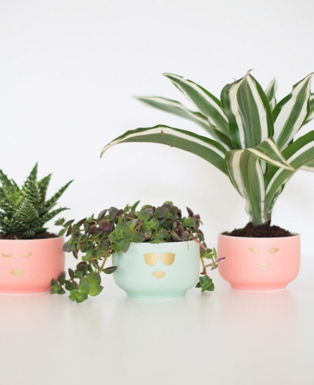 DIY Girly Planters thumbnail