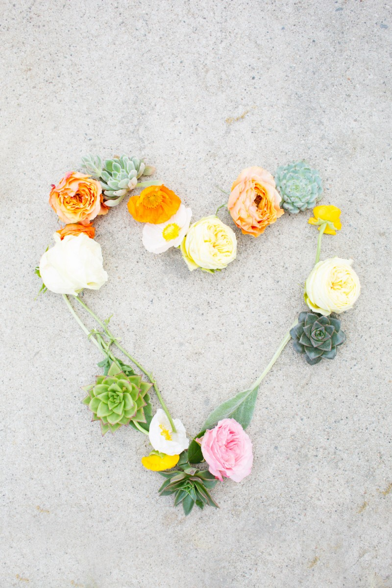 DIY Flower Messages