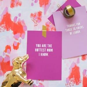 DIY Papercut Mother's Day Card Art