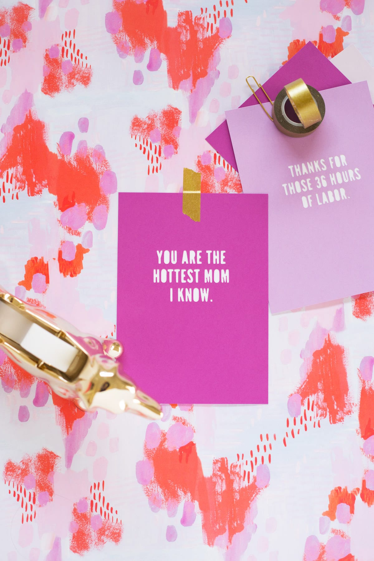 how to make mother's day cards with free printable