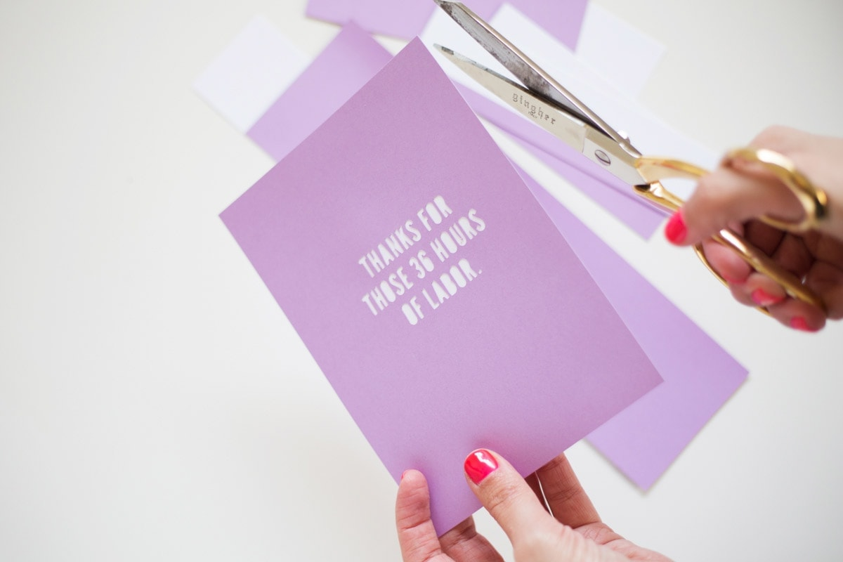 How to Make Mother's Day Cards (With Free Printable!)