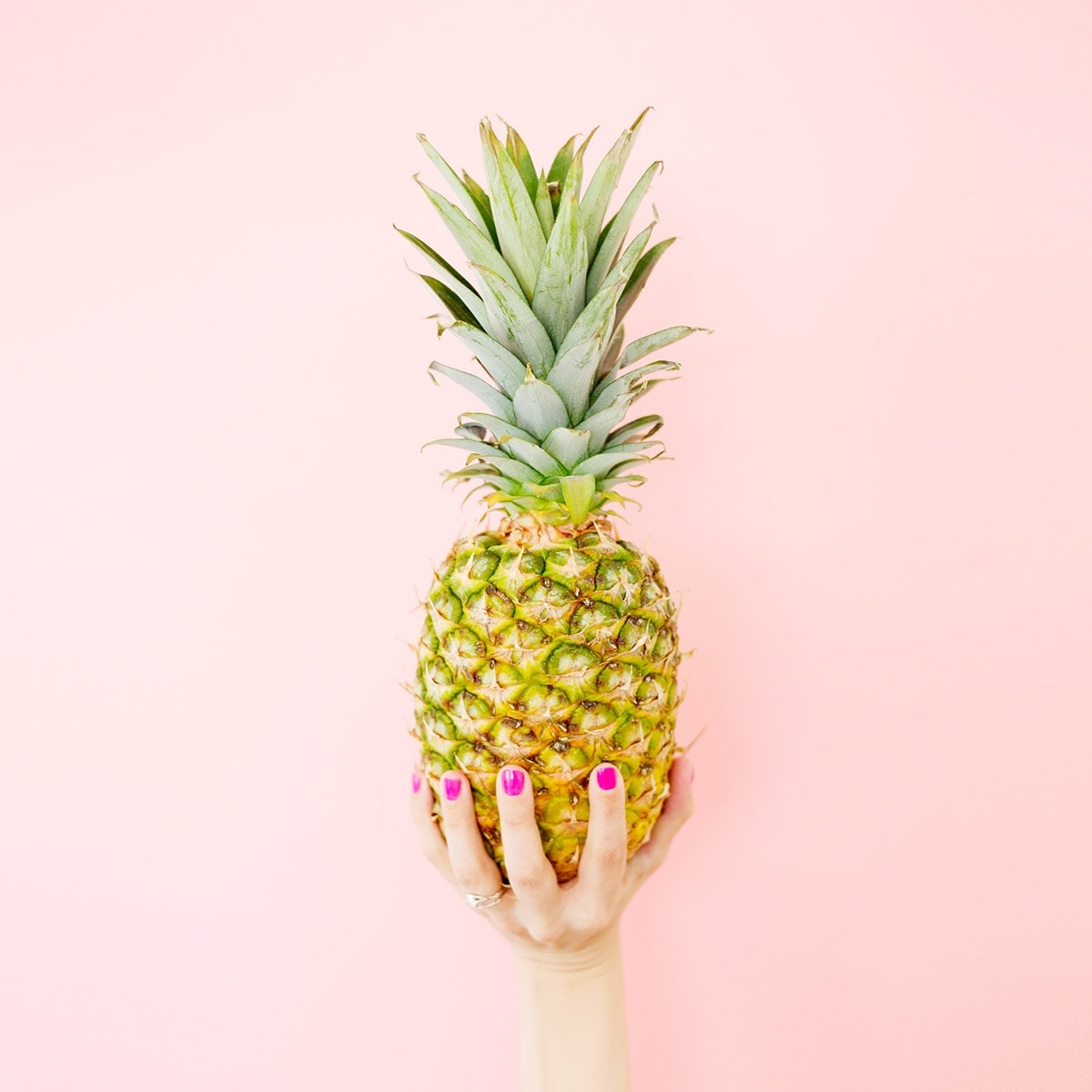 Pink Pineapple Art Print