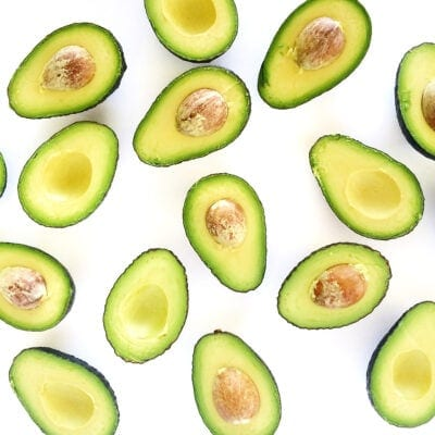 Avocados in Half