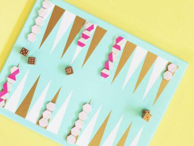 DIY Backgammon Game Art