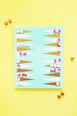 DIY Backgammon Game Art