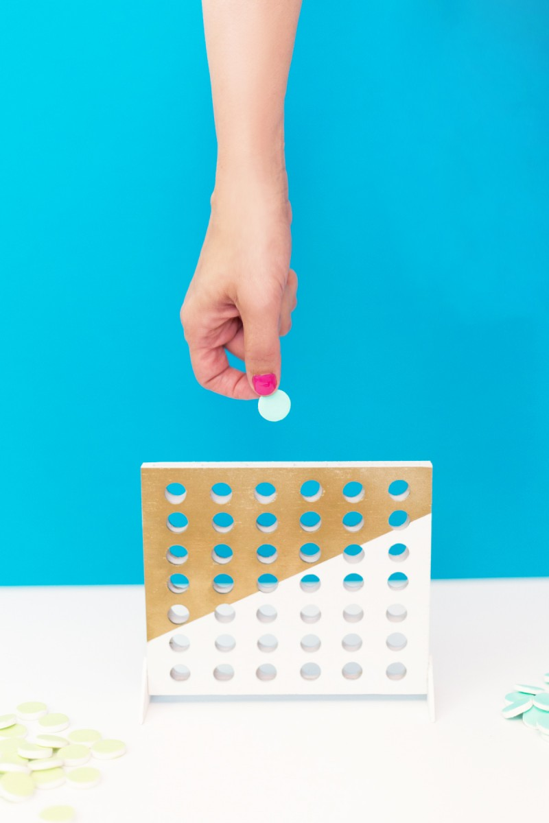DIY Connect Four Game