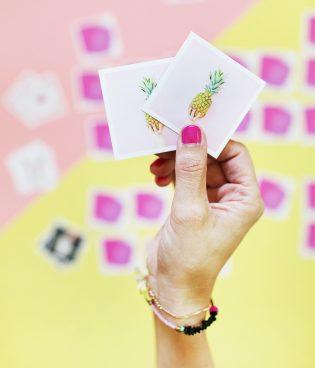 DIY Instagram Memory Game + Giveaway