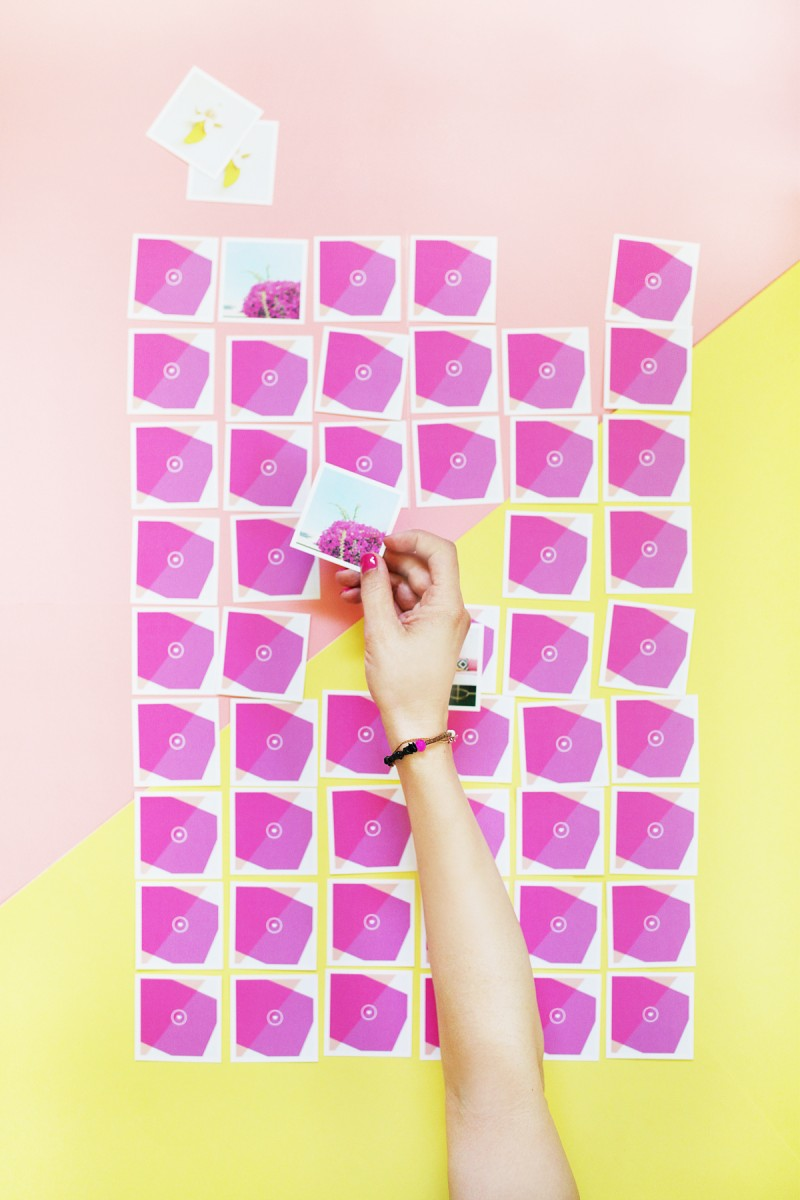 DIY Instagram Memory Game