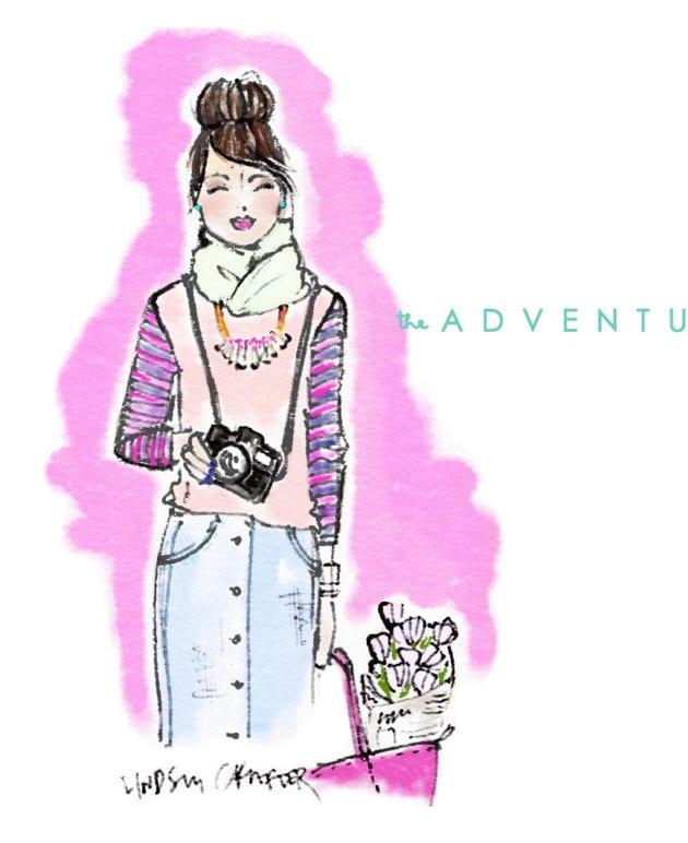 April's Lovely Girl // The Adventurer thumbnail