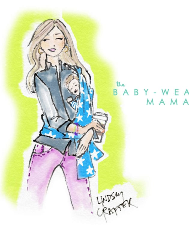 May's Lovely Girl // Baby Wearin' Mama thumbnail
