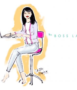 July's Lovely Girl // The Boss Lady thumbnail