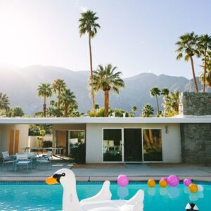 Palm Springs Swan Pool