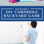 how to make a cornhole game