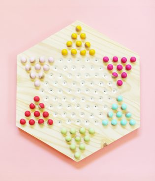 DIY Chinese Checkers Game