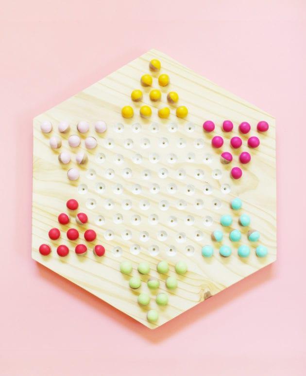 DIY Chinese Checkers Game thumbnail