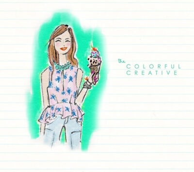 June Lovely Girl: The Colorful Creative