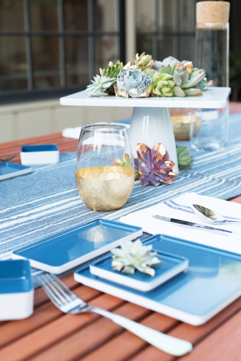 Modern July 4th Table
