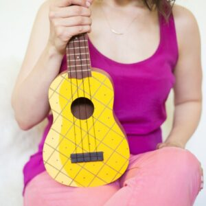 DIY Pineapple Ukulele