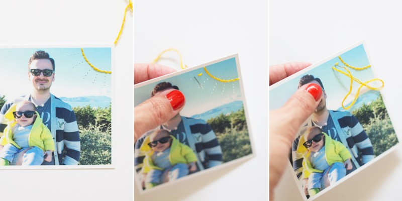 DIY Embroidered Instagrams